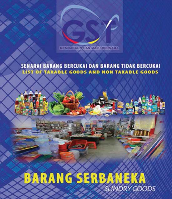 Senarai Lengkap Produk Barangan Pengguna Dikenakan GST