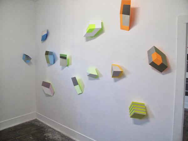 Henriëtte van 't Hoog - Cubes installation at SNO 85
