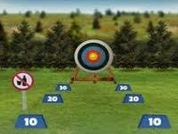 Mostre suas habilidades com uma das invenções mais fabulosas e antigas da humanidade, o arco e a flecha, tentando fazer a maior pontuação ao atirar em um alvo, lembrando que o vento influência fortemente o seu tiro. Boa sorte !
