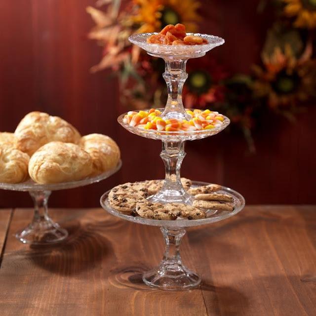 Three Tiered Dessert Tray @craftsavy, #craftwarehouse, #homedecor, #party, #E6000