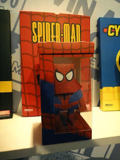 Spiderman Paper Craft at Sangsangmadang Hongdae