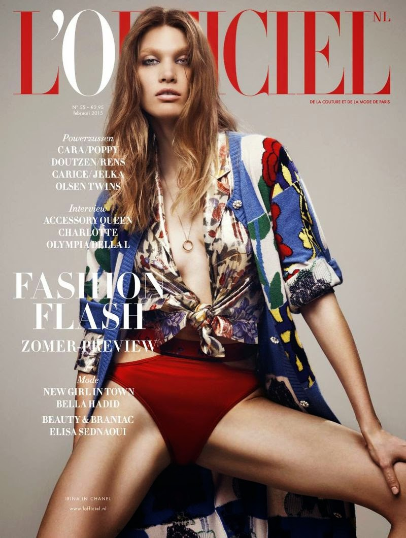 Model: Irina Nikolaeva By Jonas Bresnan For L'Officiel, Netherlands