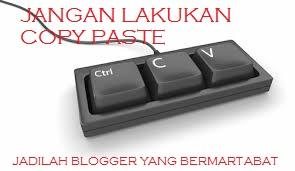 cara membuat posting blog tidak bisa di copy paste