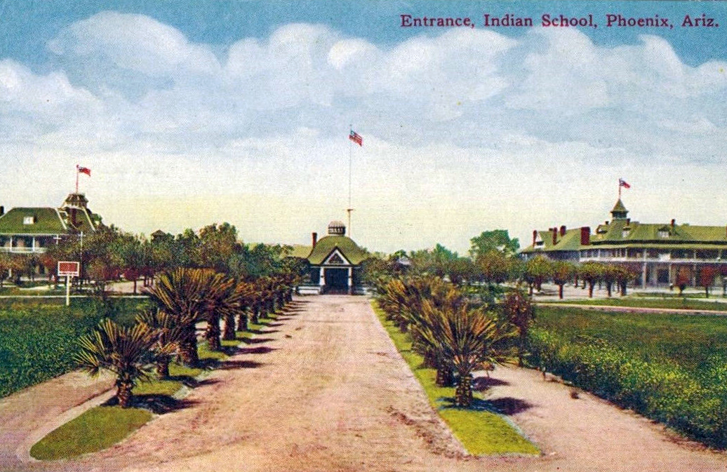 a history of the phoenix indian school When phoenix indian school was established in 1891, it quickly became a prominent part of the federal government's policy of forced assimilation.