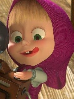 Gadis kecil ini diasuh oleh seekorberuang. Hubungan antara Marsha