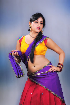 Haripriya latest photoshoot in abbai class ammai mass