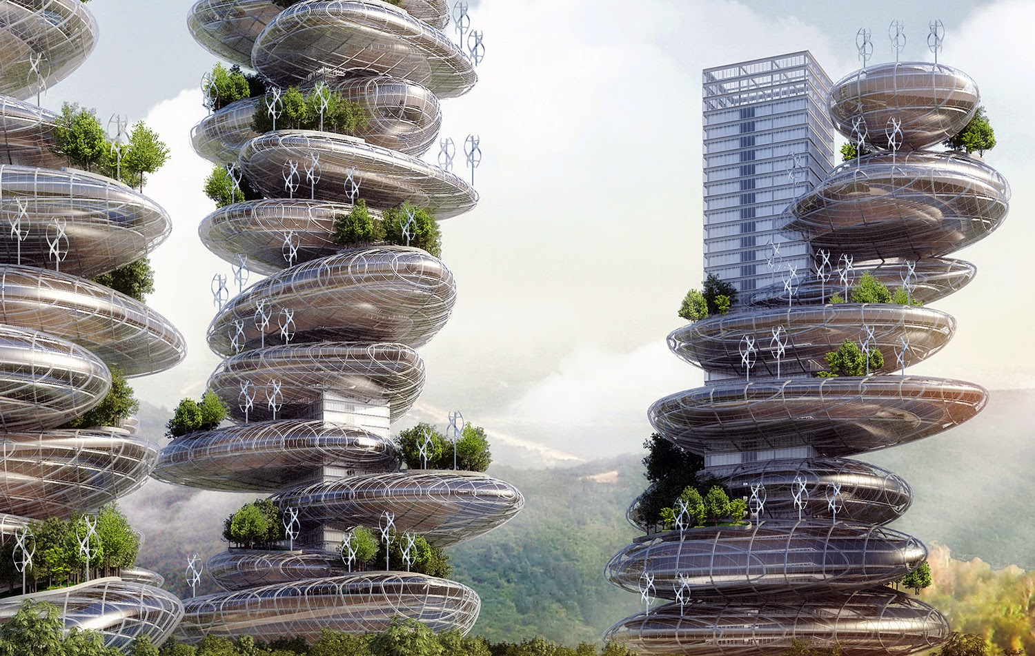 tower de Vincent Callebaut