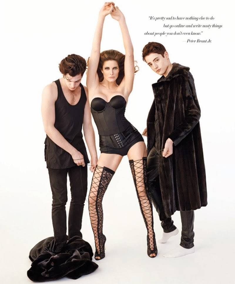 Stephanie Seymour HQ Pictures Harper's Bazaar US Magazine Photoshoot March 2014