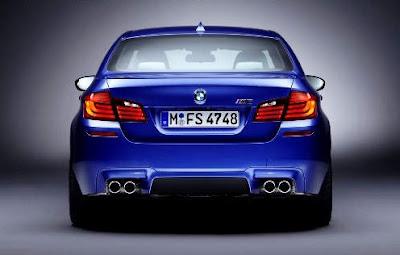 2012 BMW M5 Rear