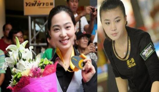 Xiaofang Fu Pemain Biliar Paling Cantik Dan seksi
