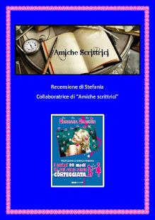 Recensione della blogger Stefania nel blog Amiche Scrittici