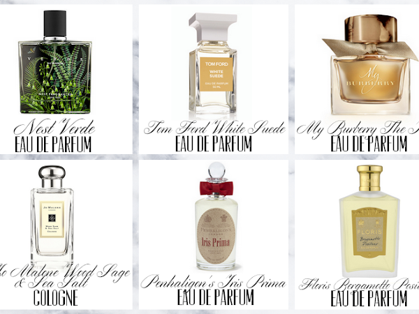 Six Scents I Want To Try Out.