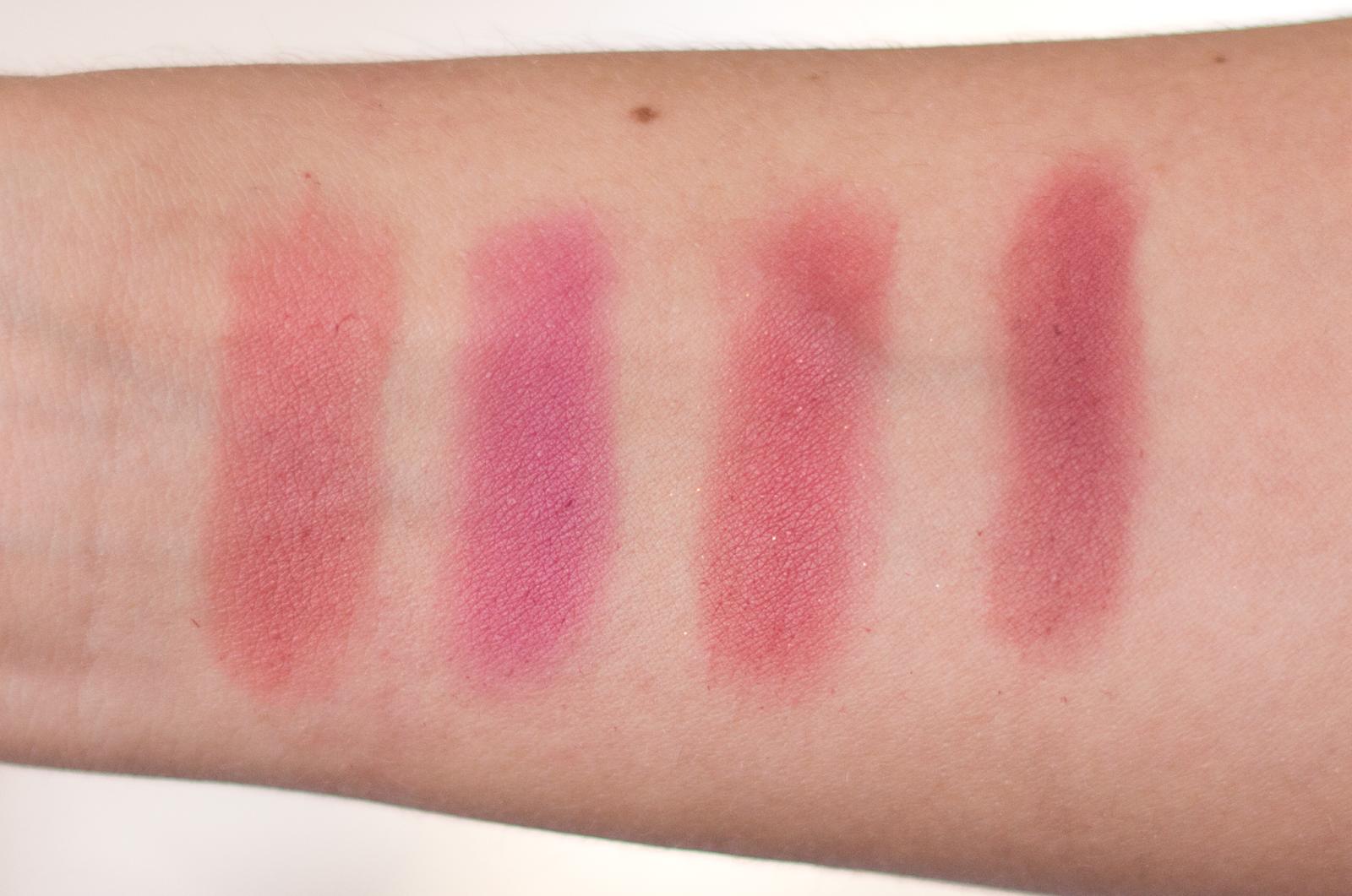 elf blush palette swatches dark