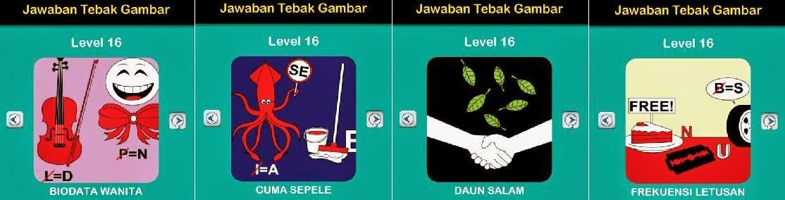 Jawaban Game Tebak Gambar Android Level 16 5-8