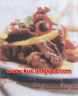 Masak Tumis Daging Bumbu Hongaria