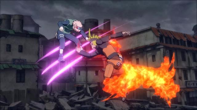 Robot Kyubi Mode Naruto Storm Revolution