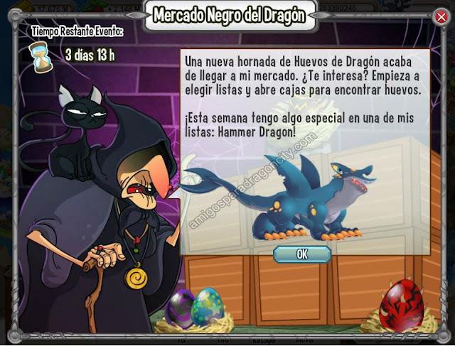 imagen del dragon hammer en el mercado negro del dragon