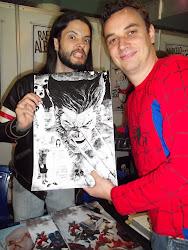 Com Renato Guedes