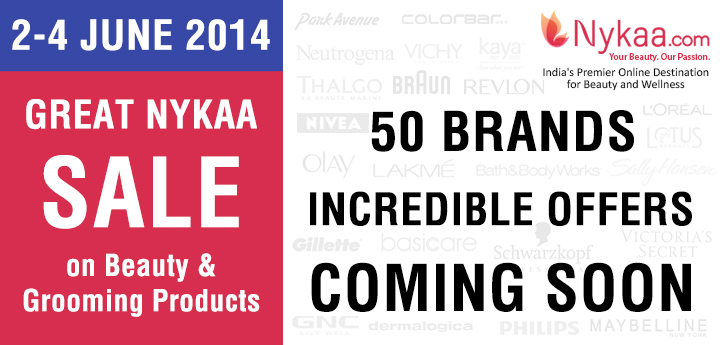 PR: Nykaa.com Shopping Festival on Beauty and Grooming Products