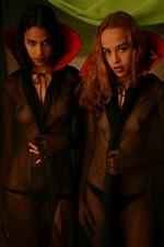 Halloween Vampiras Polliana & Amanda Mirelli