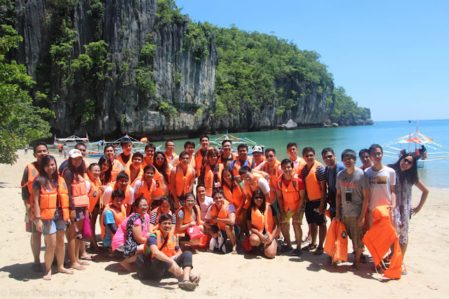 FSRM in the Underground River of Palawan - 2015