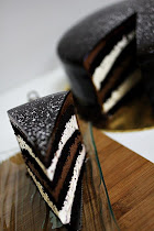 Double Chocolate Indulgence Cake