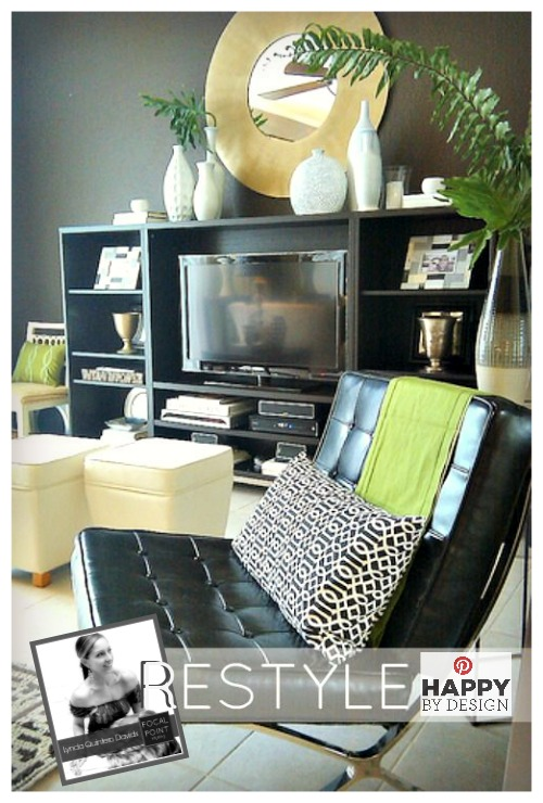 Focal point styling happy by design my collaboration for Living room ideas home goods