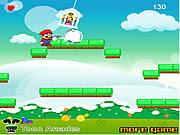 Snowy Mario