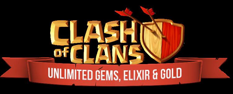 Code Triche Clash Of Clan - 9,999,999 Gems, Coins & Elixirs