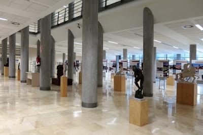 Exposición de Félix Magdalena en el Campus de Mieres