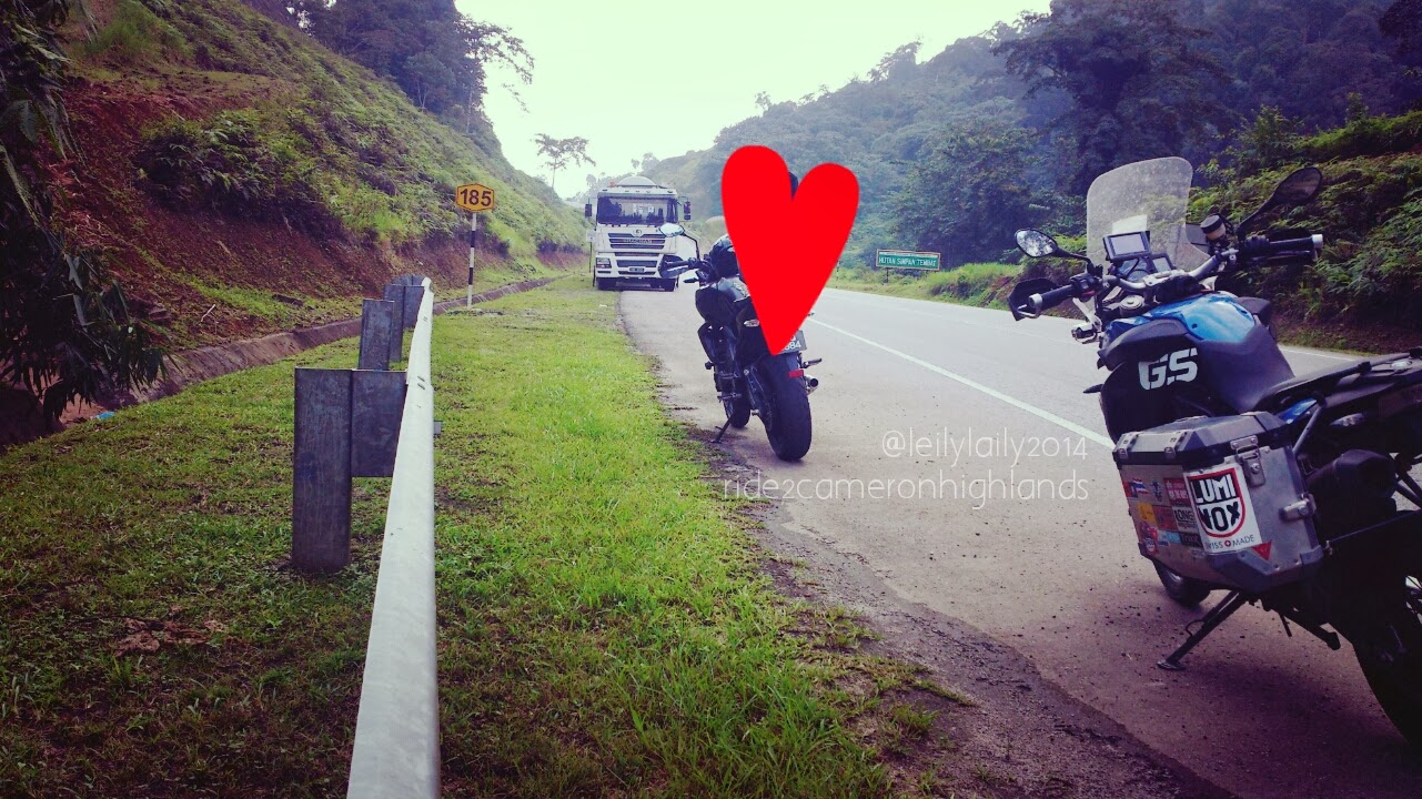 Ride to Cameron Highlands
