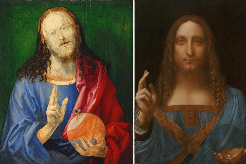 NYC Arts: Leonardo da Vinci Painting Re-Discovered in NYC! Da Vinci Paintings Mirrored