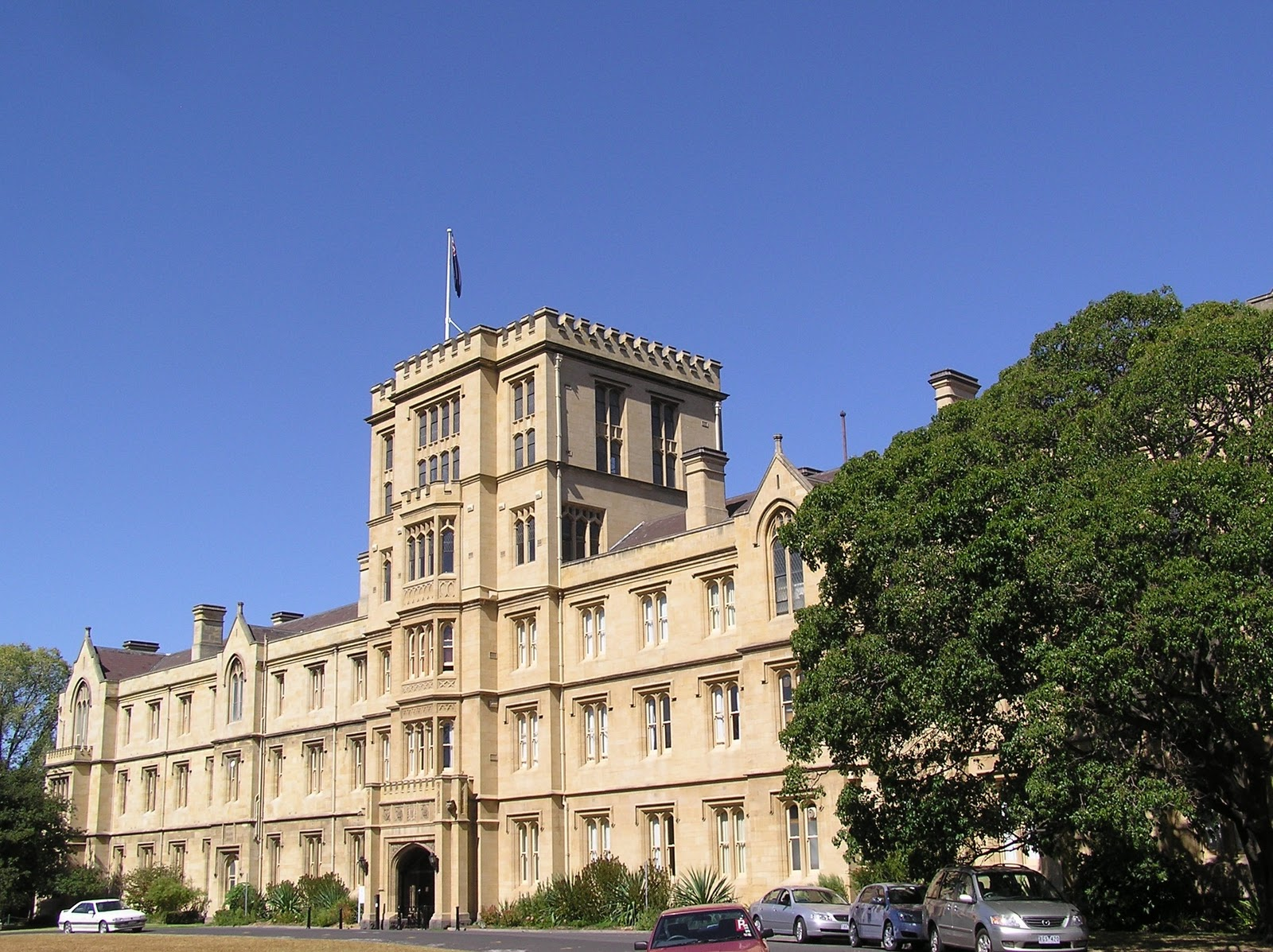 Congrats to melbourne university for being voted 1 university