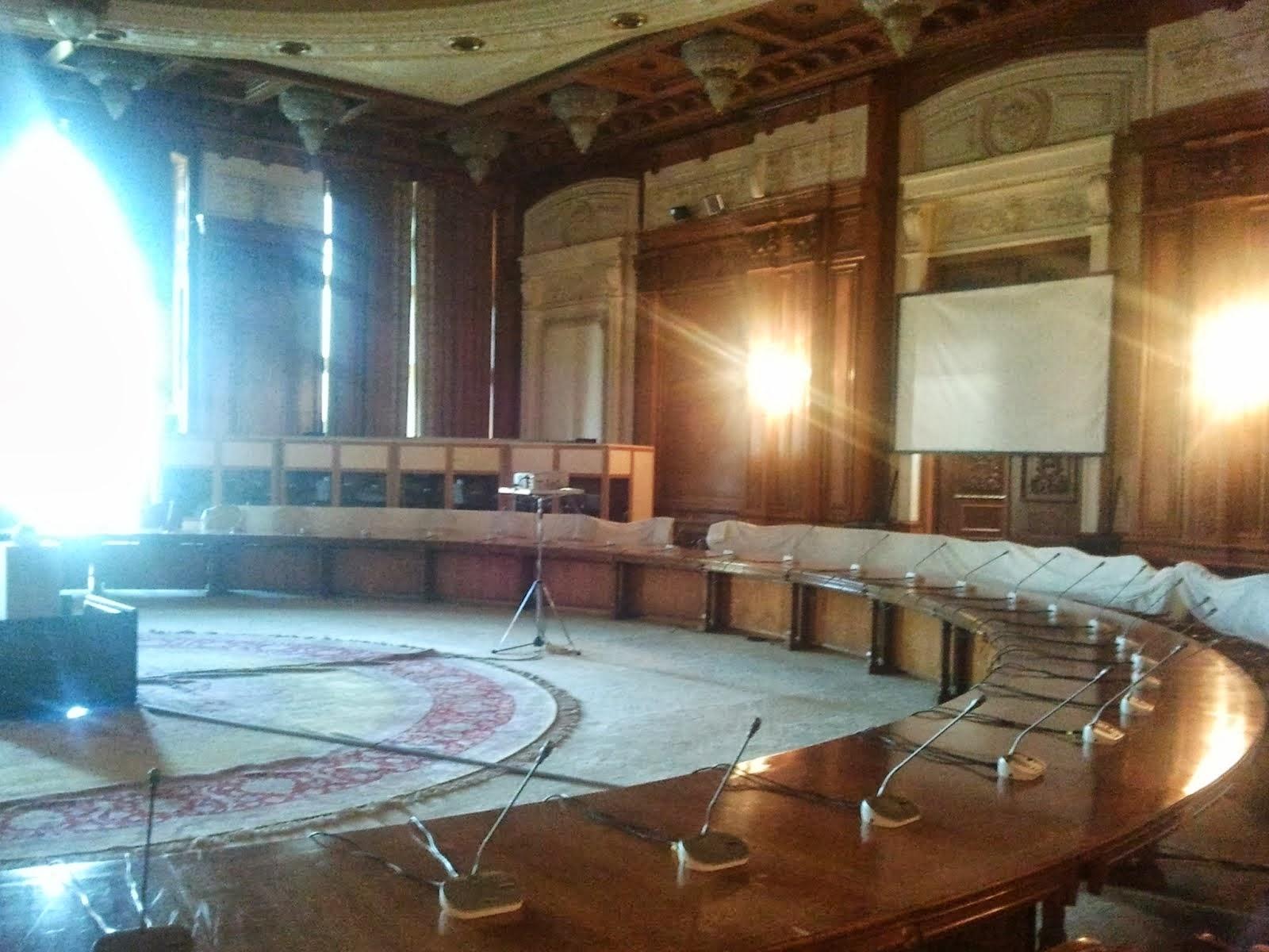 Human Rights Room, Sala Drepturilor Omului, Palatul Parlamentului, 20/07/2012