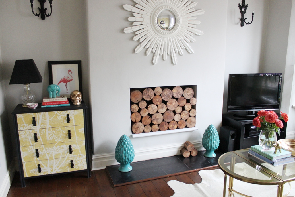 I So Wood (Part II): Decorative Logs (At Last!) - Swoon Worthy
