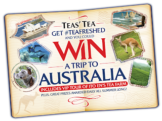 Win a trip to Australia with Teas' Tea
