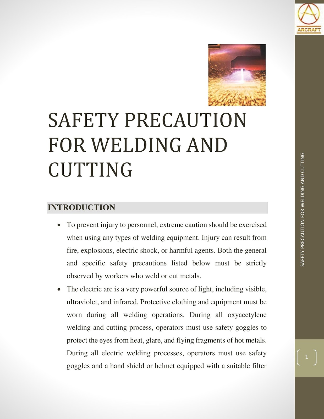 Safety Precautions For Welding And Cutting Hardfacing Diffusion Diagram