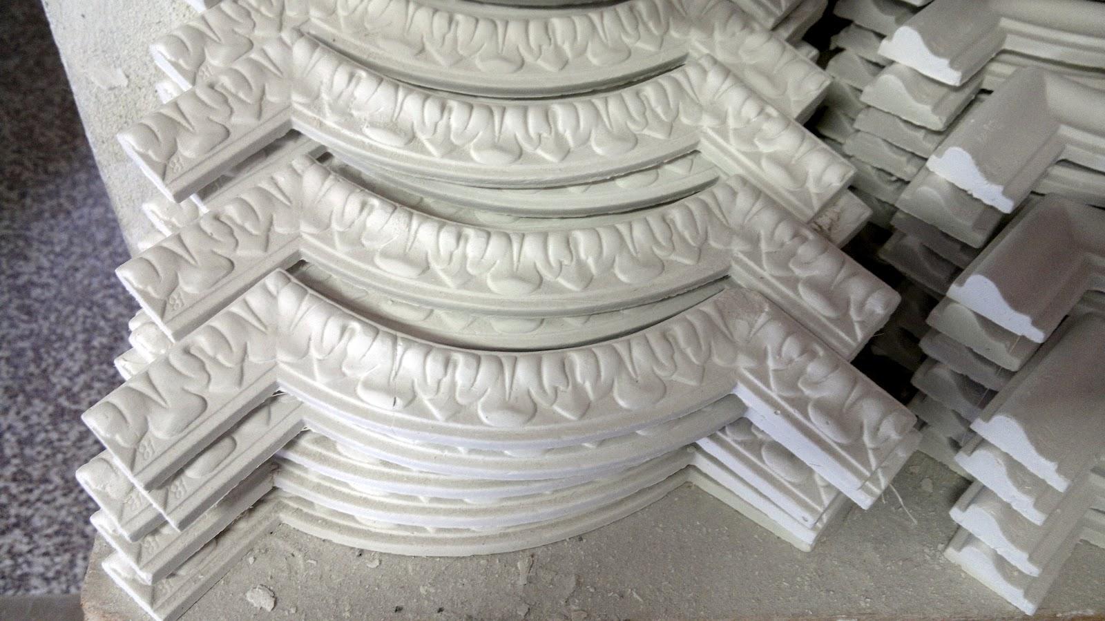 Archi tetti le decorazioni in gesso - Decorazioni gesso ...