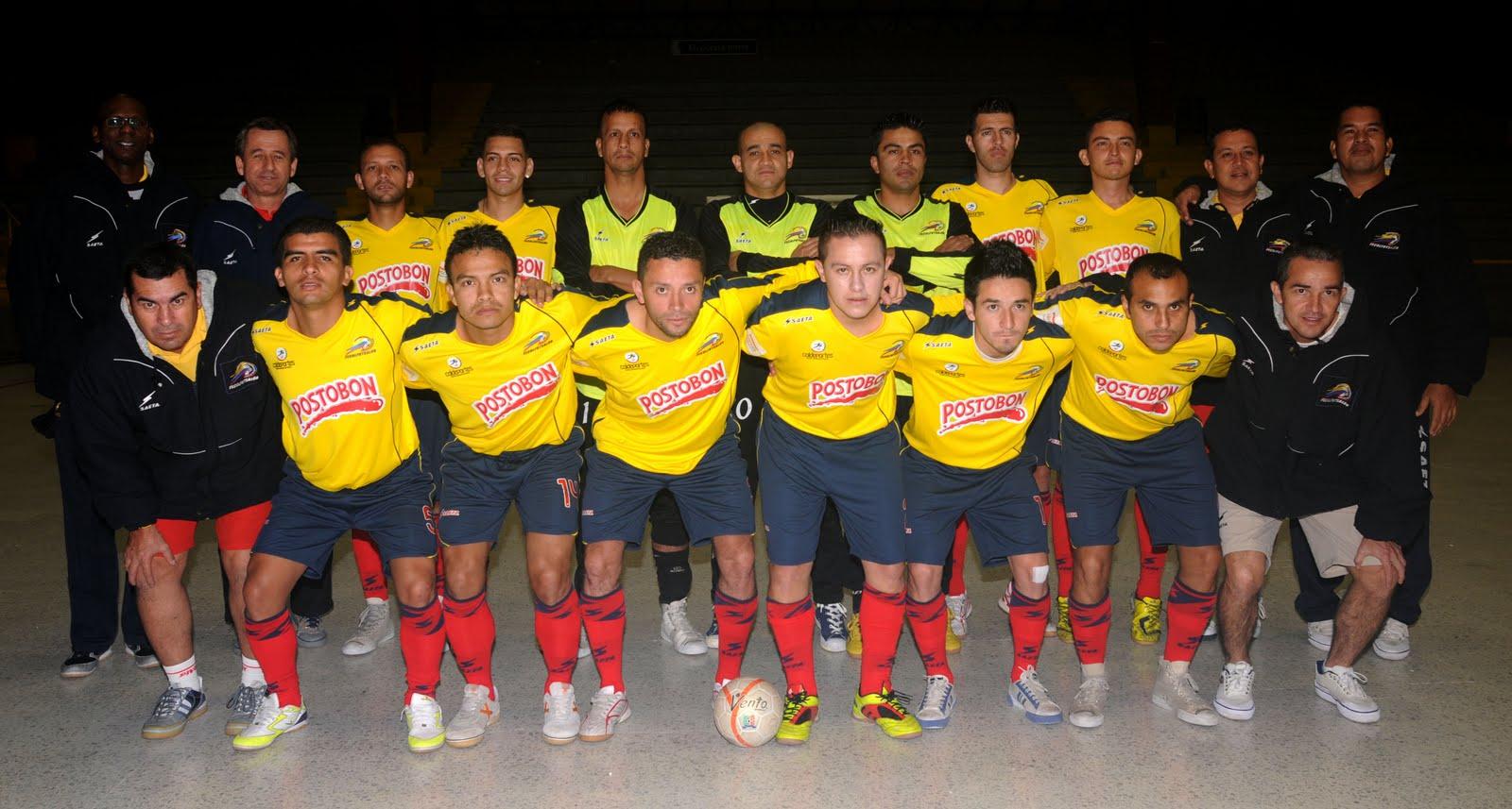 seleccion de microfutbol futbol de salon colombia