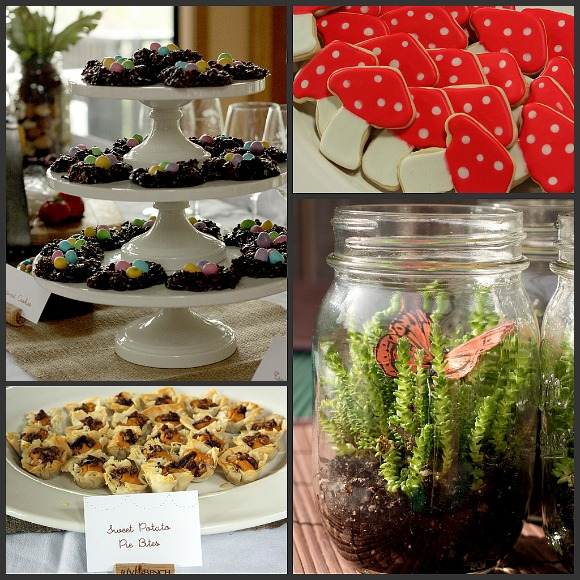 baby shower food ideas woodland themed baby shower ideas