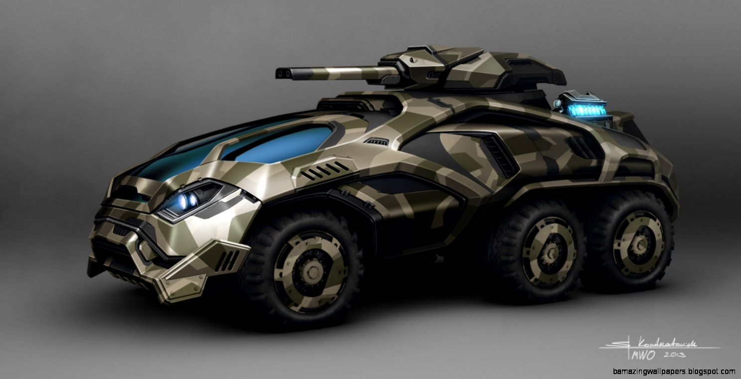 Sci Fi Military Vehicles