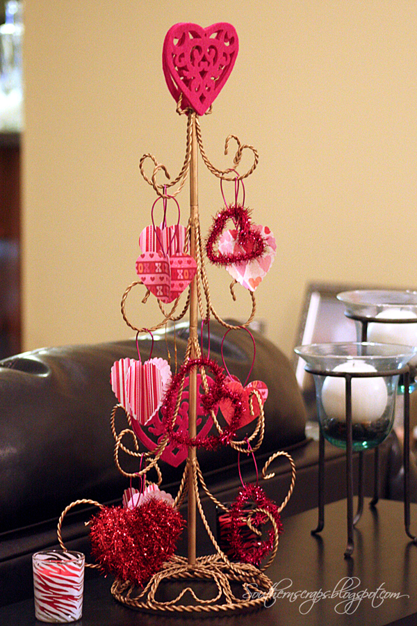love my christmas tree each year and have always thought heart trees ...