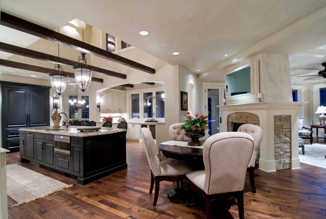 Kelly pereira design studio kitchen inspirations for Kitchen remodel open to dining room