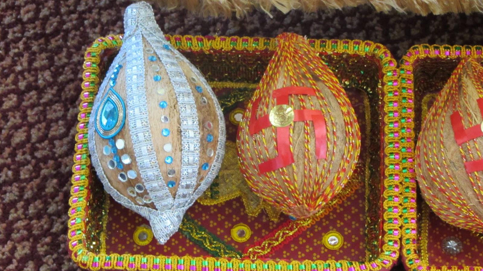 Indian Wedding Tray Decoration Fosa