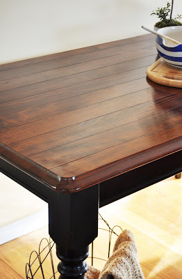 Classic dining table revamp the painted hive for Revamp coffee table
