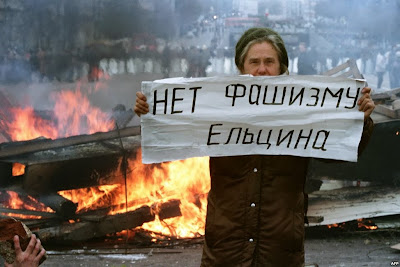 No al fascismo de Yeltsin
