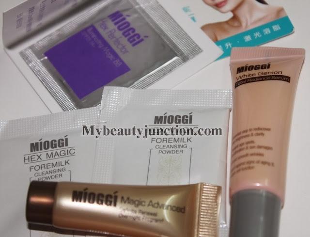 Glamabox October 2013 review - international beauty box that ships worldwide