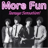 "More Fun - ""Teenage Sensation!"" (7"",Target Earth - 1996)"