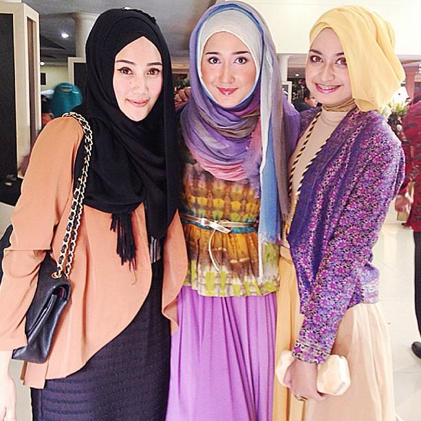 ... Hijab Terbaru Ria Miranda Cara Memakai Jilbab | Tattoo Design Bild