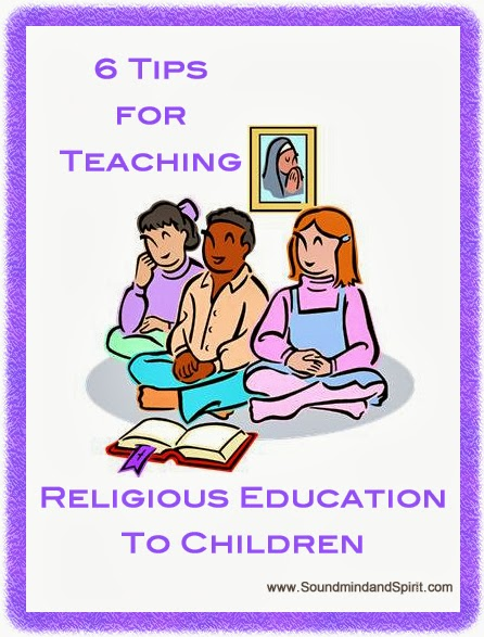 Tips for Teaching the Faith to Children